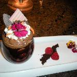 Yummy Chocolate Raspberry Mouse !