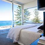 Stunning Ocean views from Capeview bedroom
