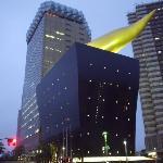 Asahi beer building, and Golden Blob