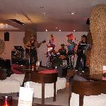 This bar & restaurant features great live band