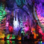 colorful  cave cathedral