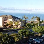 view from our balcony/lanai