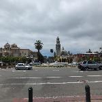 ティムケン美術館周囲の景色