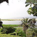 Vue vers la mer depuis Malonda Lodge