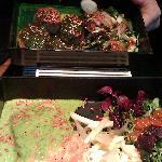 salmone e medaglioni