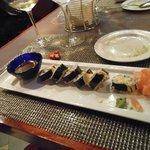 Sushi is a fun starter
