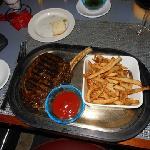 Bone-in ribeye Kobe beef