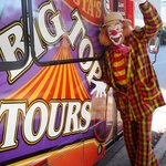 Toby Ballantine, life-long circus performer and host for your Big Top Tour