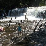 Upper tier waterfall
