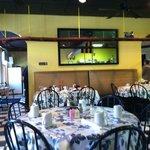 interior of Fredrica Cafe