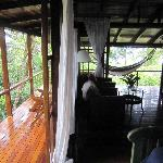 Room D with wrap-around porch