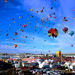 Located near balloon fiesta