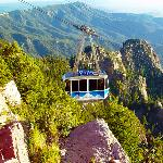 Driving distance to Sandia Aerial Tramway