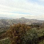 Vista panoramica dal Poggio (Radicofani)