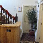 Reception, with Trip Advisor certificate!