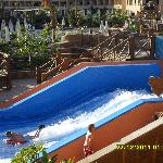 this is the flow rider, test your surfing skills, this was very popular