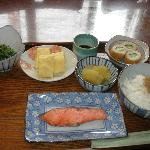 part of the yummy Japanese breakfast