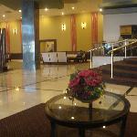 Hall do Hotel, muito limpo.