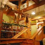 Interior of Cinnabar Sam's
