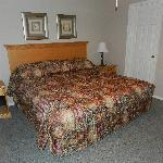 Bedroom, King Sized Bed