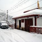 Four Seasons on a snowy day