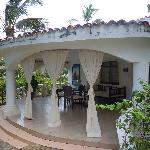 villa- each with a huge balcony