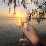 Champagne sunset!