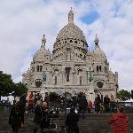 sacre coeur basilica at montmartre