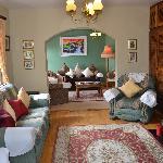 Susan's warm & welcoming parlor