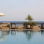 Londa's Outdoor Pool overlooking the Mediterranean