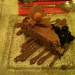 Amazing chocolate cheesecake