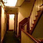 Inside hotel.