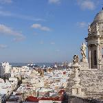 View of Cadiz from the tower