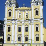 Wedding church in Mondsee