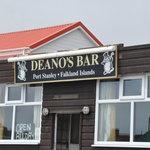 Outside Deano's Bar