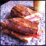 The jamon sandwich