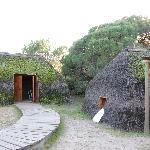 las casas antiguas típicas en Doñana
