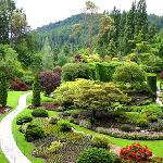 Nearby Butchart Gardens
