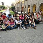 En la plaza Tapatía