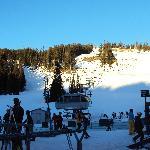 Zona de avanzados en ski y snowboard