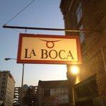 La Boca @ sunset.
