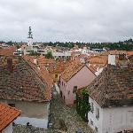 View from Hotel Joseph over Trebic