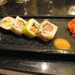 Fantastic Sushi at the Hibachi Restaurant