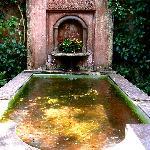 Fountain off main lobby.