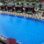 room 341 overlooking pool