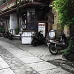 Entrance to Rumah Roda
