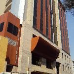 3-Salta-Hotel Alejandro I Internacional: Fachada frontal