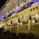 St Georges Hotel at Night