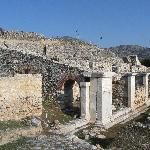 Building beside the ancient Egnatia road
