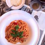 spaghetti arabiatta